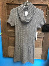Load image into Gallery viewer, Size S Isela Gray Knit Dress NEW