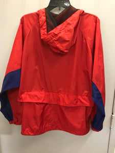 Pacific Trail Size Large Red Windbreaker