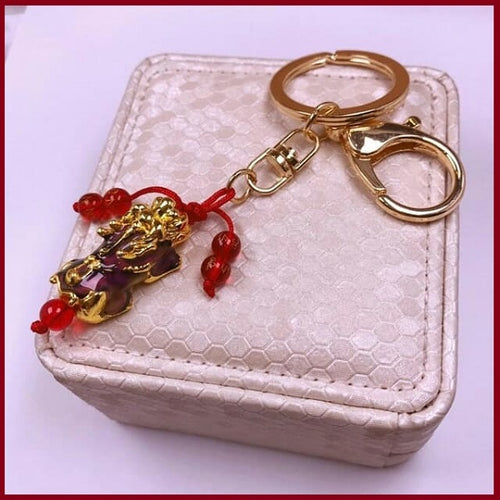 Color Changing Piyao Money Catcher Keychain