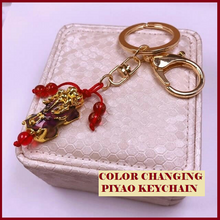 Load image into Gallery viewer, Color Changing Piyao Money Catcher Keychain