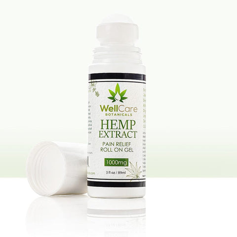 Hemp Extract Pain Relief Roll On Gel - 1000MG