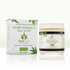 Hemp Extract Intense Skin Relief Body Butter - 300MG