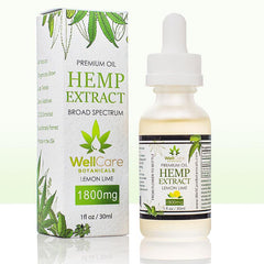 Hemp Oil Extract 1800mg Tincture Lemon Lime 02
