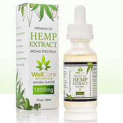 Hemp Oil Extract 1800mg Tincture Natural Flavor 02