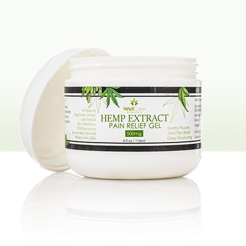 Hemp Extract Pain Relief Gel - 500MG