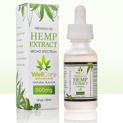 Hemp Oil Extract 900mg Tincture Natural Flavor 02