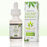 Hemp Extract Oil - 900MG Broad Spectrum Supplement - Natural Unflavored