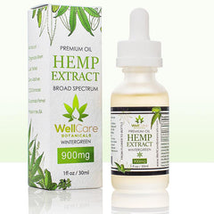 Hemp Oil Extract 900mg Tincture Wintergreen 02