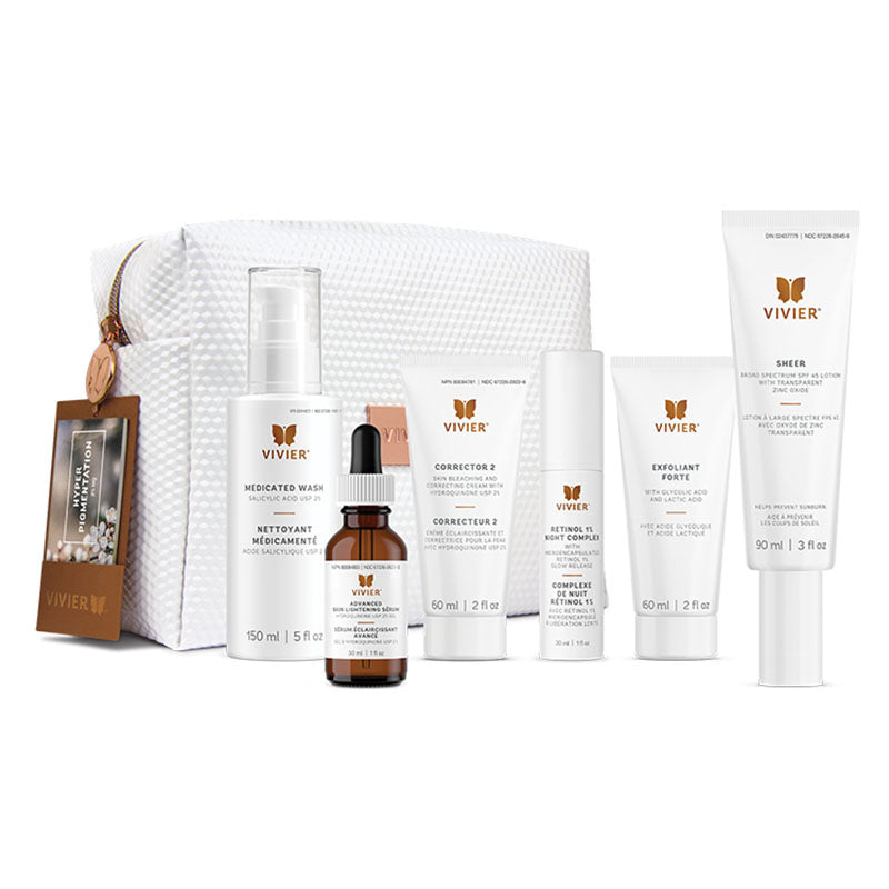 Vivier Hyperpigmentation Program (2% HQ) - Revita Skin Clinic