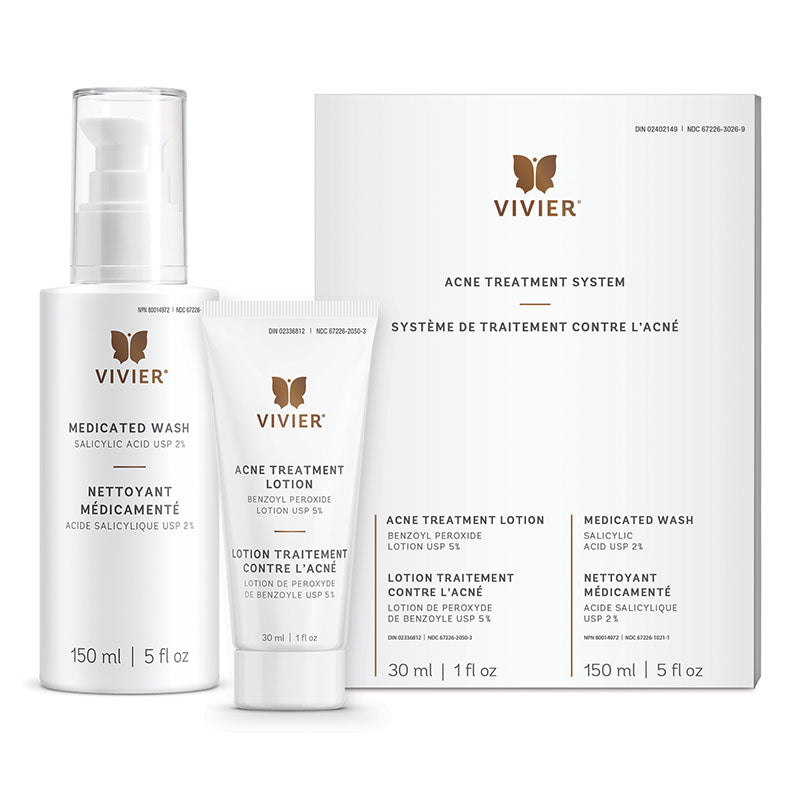 Vivier Acne Treatment System - Revitaskin