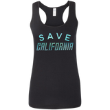 Save California Racerback Tank