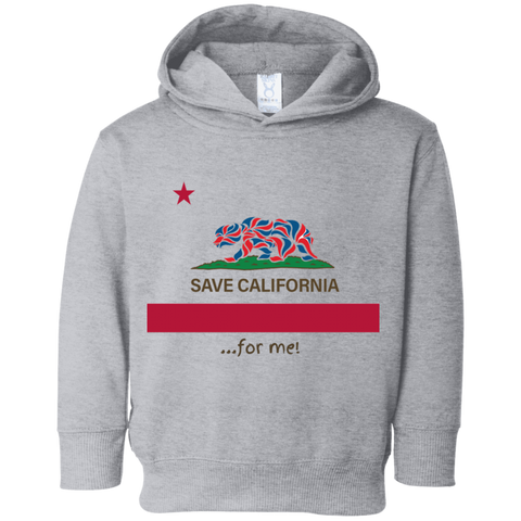 Save CA For Me Toddler Flag Hoodie