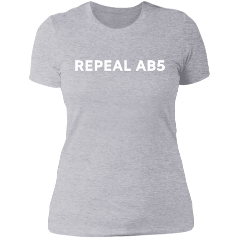Repeal AB5 Ladies Tee