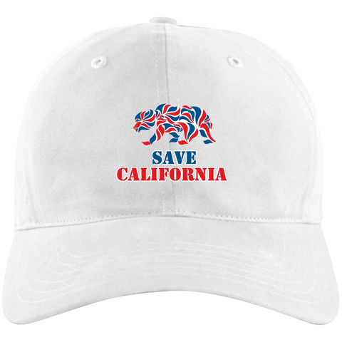 Premium Save California White Hat