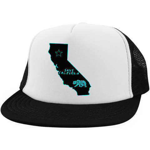 Save California Map Trucker Hat