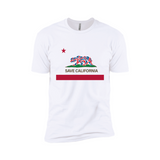 Save California Flag Men's Tee