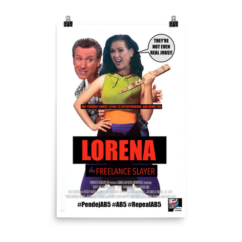 Poster - Lorena the Freelance Slayer