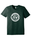 Live Love Camp tee for adults - triblend