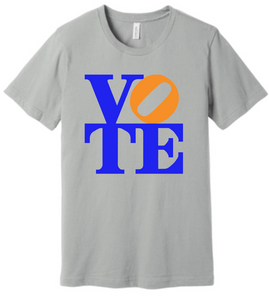 VOTE ...Gainesville style orange & blue t-shirt