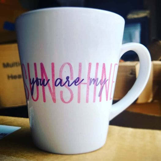 You are my Sunshine ceramic mug