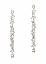 Load image into Gallery viewer, Hestia Double Row Drop Earrings