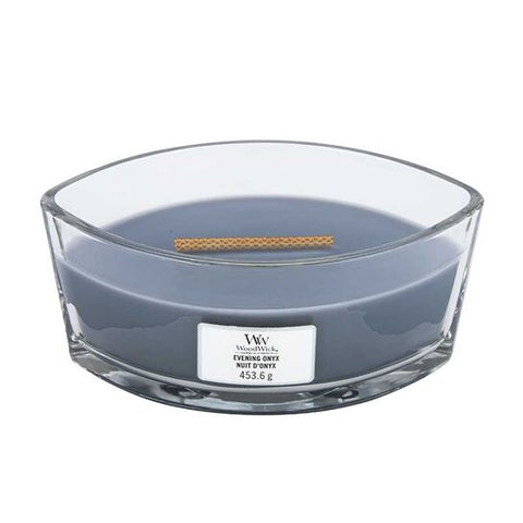 Woodwick Hearthwick Evening Onyx Candle