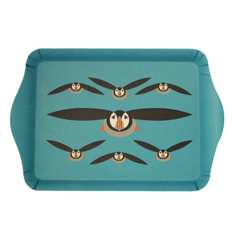 Puffin sandwich tray