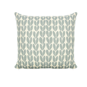 Tweedmill Organic Cotton Sycamore Duck egg cushion