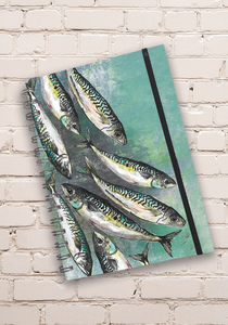 Green Mackerel Shoal Notebook