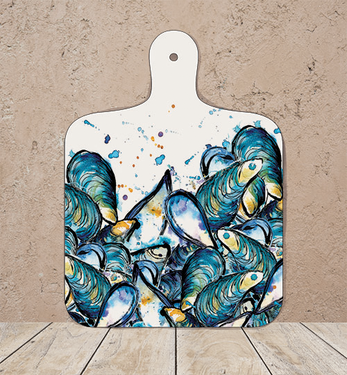 Small Mussels Chopping Board