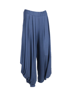 Italian Jersey One size Denim harem trousers