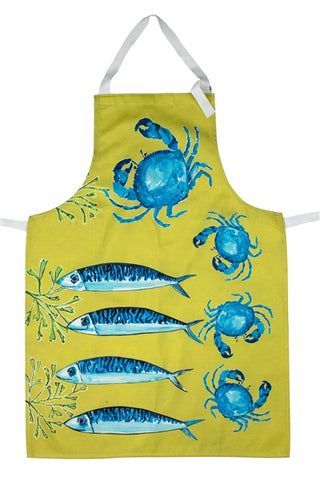 Brand new Lime Fish apron