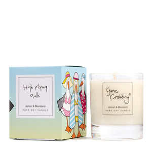 New Gone Crabbing High Flying Gulls Candle