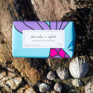 Gone Crabbing Handmade Cornish Mermazing Soap