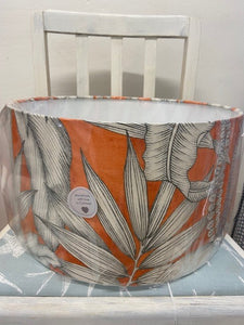 Handmade Exclusive Orange Leaf Lamp Shade