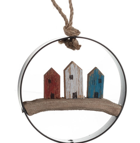 Handmade rustic hanging cottages