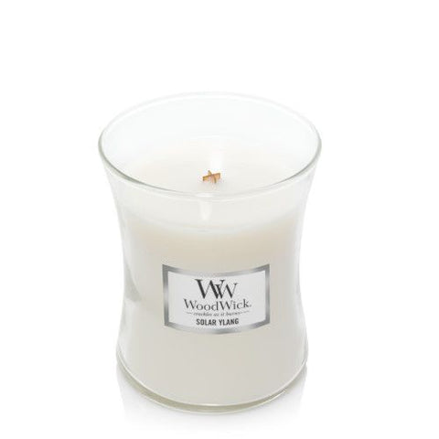 New Woodwick Solar Ylang Medium Candle