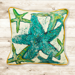 New Starfish Cushion made in the South West