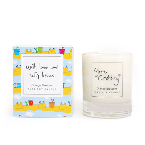 New Gone Crabbing With Love and Salty Kisses Candle