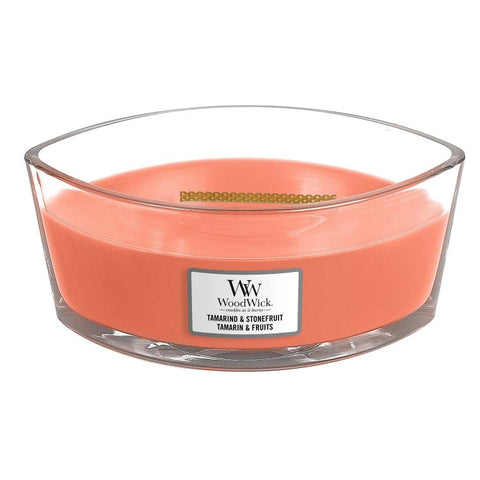 New Woodwick Hearthwick Tamarind and Stonefruit Candle