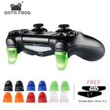 DATA FROG 1 Pairs L2 R2 Buttons Trigger Extenders Gamepad Pad for PlayStation 4 PS4/PS4 Slim/Pro Game Controller Accessories