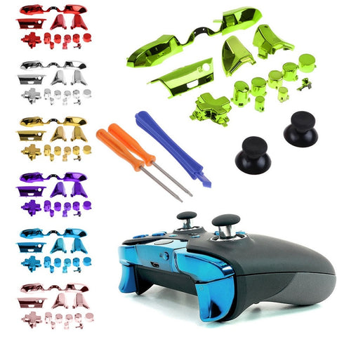 Accessories For Xbox One Elite X1 Controller Bumper Triggers Buttons Replacement Full Set D-pad LB RB LT RT Buttons  T8H&T6 Tool