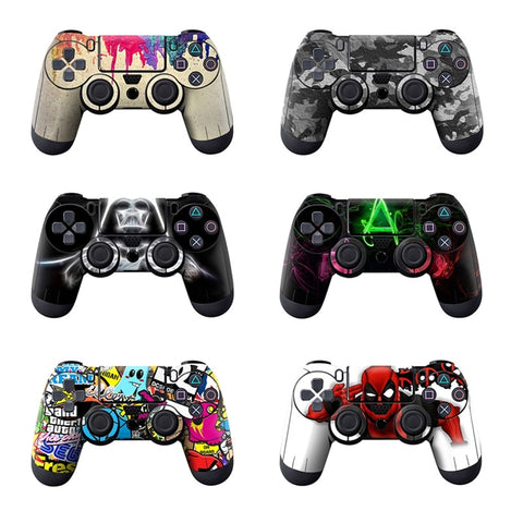 Full Cover Skin Stickers For Sony Playstation 4 Controller Prevent Scratches Protector Sticker For PS4 Controller Accessories