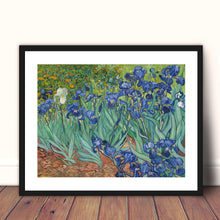 Load image into Gallery viewer, Irises by Vincent Van Gogh, Van gogh, Garden print, Flowers, Vincent Van Gogh, Canvas print, Giclee Print, botanical