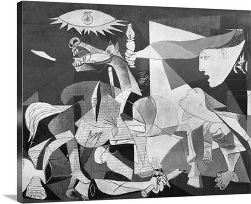 guernica 1937 by pablo picasso guernica pablo picasso canvas print classic art wall art print