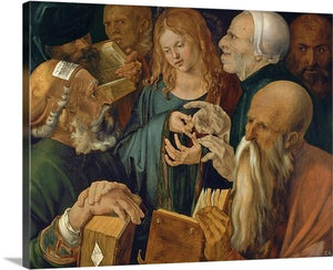 jesus among the doctors 1506 by albrecht durer jesus among the doctors albrecht durer canvas print classic art wall art print