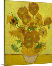 Load image into Gallery viewer, sunflowers 1889 by vincent van gogh sunflowers vincent van gogh canvas print classic art wall art print