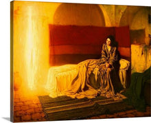 Load image into Gallery viewer, the annunciation 1898 by henry ossawa tanner the annunciation henry ossawa tanner canvas print classic art wall art print