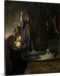 the raising of lazarus 1630 by rembrandt van rijn the raising of lazarus rembrandt van rijn canvas print classic art wall art print