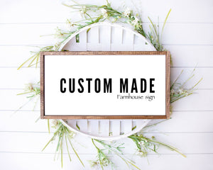 Make your Custom Sign art print  and Custom quote print wall art personalized, Custom poster with with quote or poem